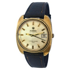1970s vintage Gold-Plated / Stainless Steel Roamer Automatic Vanguard 316 Watch