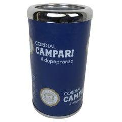 1970s Vintage Italian Advertising Cordial Campari Glacette