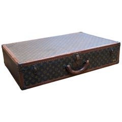 1970s Vintage Louis Vuitton Monogram Suitcase