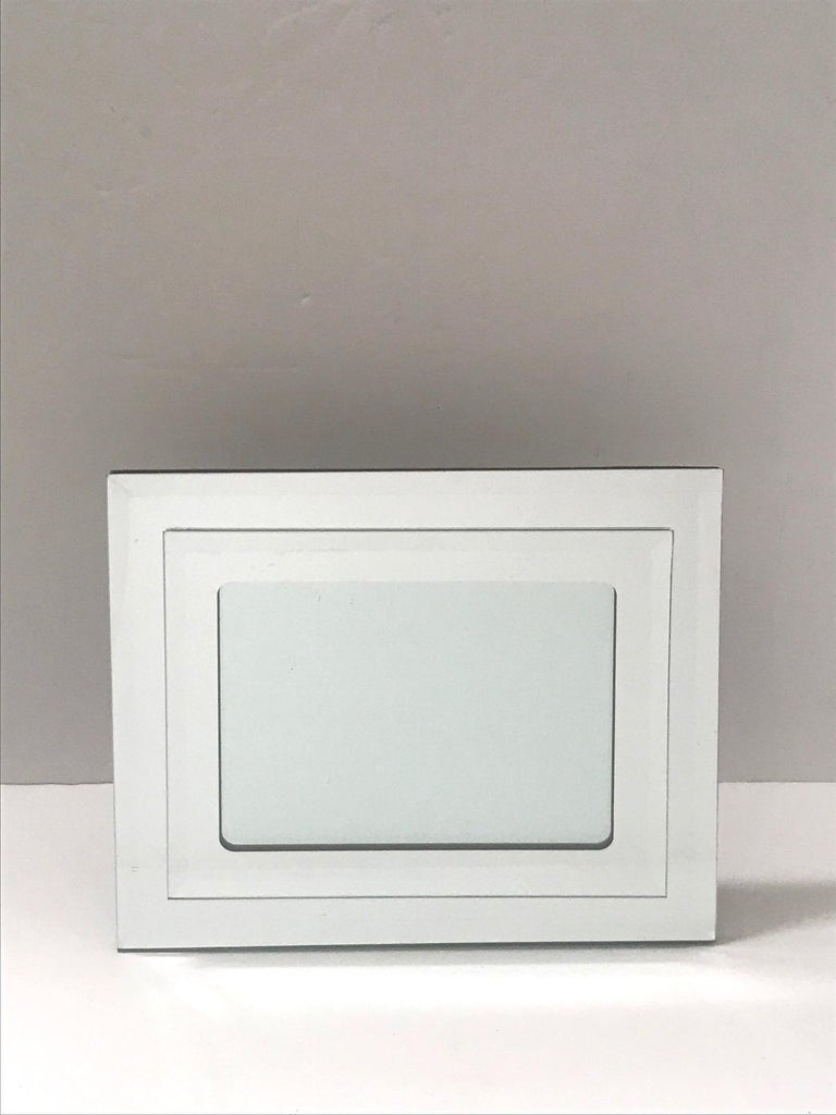 American 1970s Vintage Mirrored Picture Frame For Sale