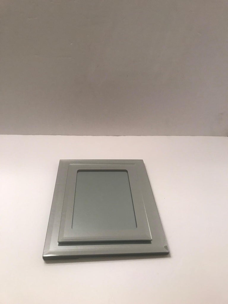 1970s Vintage Mirrored Picture Frame For Sale 1