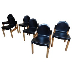 1970's Vintage Retro 6 Gert de Lange for Thornet ''The Flex'' Chairs