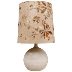 1970s Vintage Stone Lamp