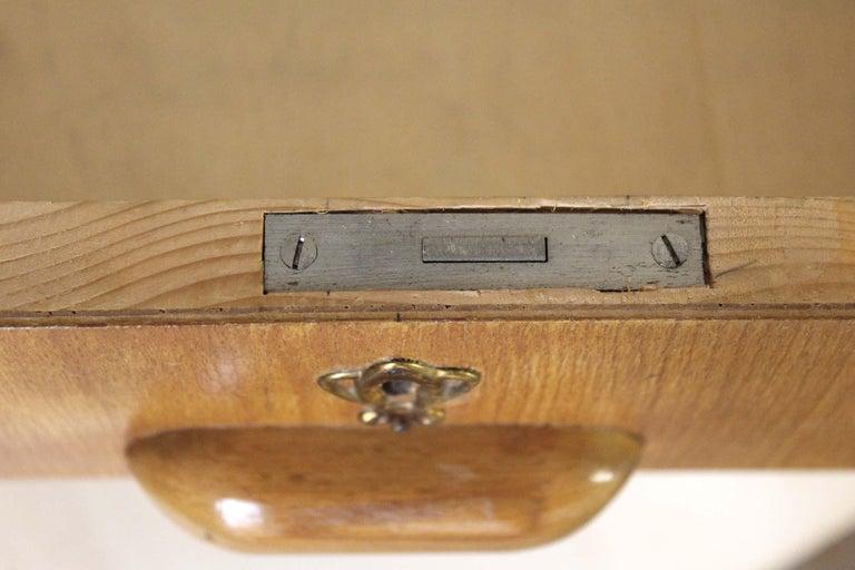 1970s Vintage Wood Desk Table For Sale 4