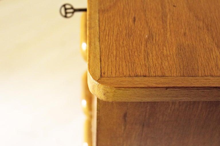 1970s Vintage Wood Desk Table For Sale 8