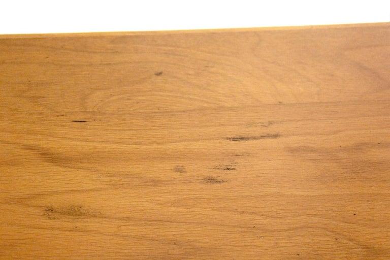 1970s Vintage Wood Desk Table For Sale 9