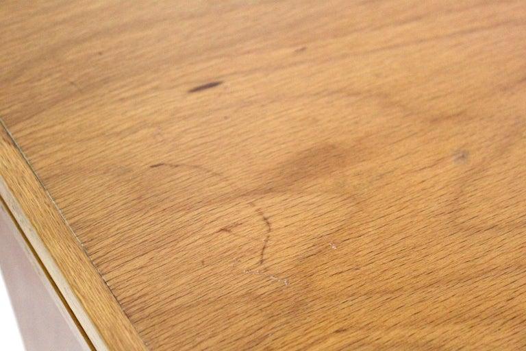 1970s Vintage Wood Desk Table For Sale 10