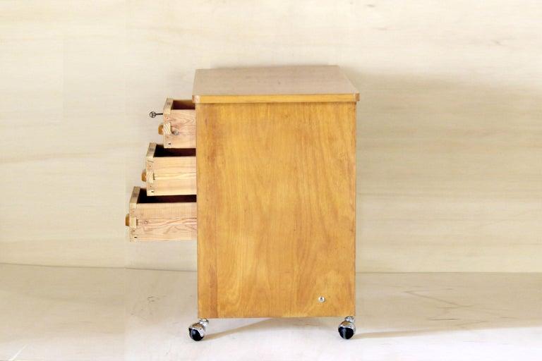 1970s Vintage Wood Desk Table For Sale 1
