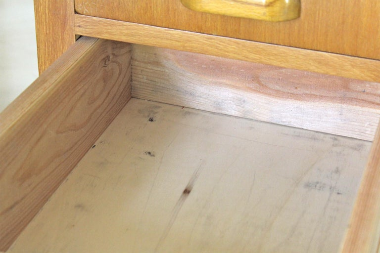 1970s Vintage Wood Desk Table For Sale 3
