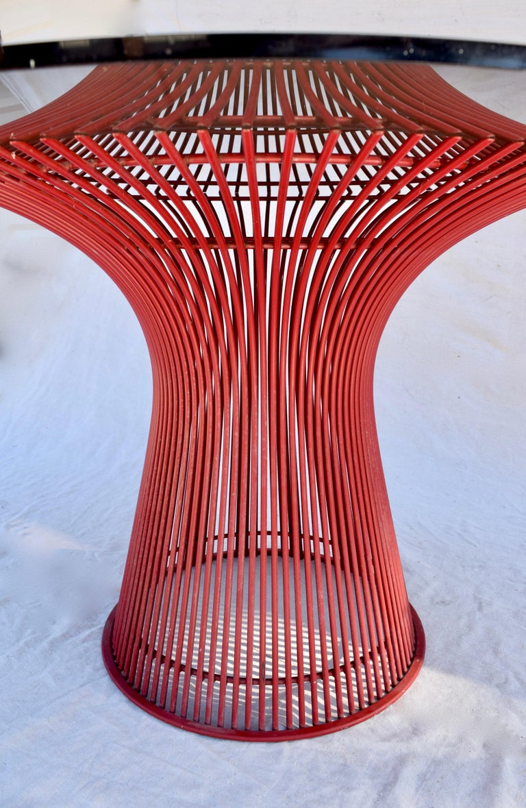 Rare 1970s Warren Platner Dining Table by Knoll For Sale 4