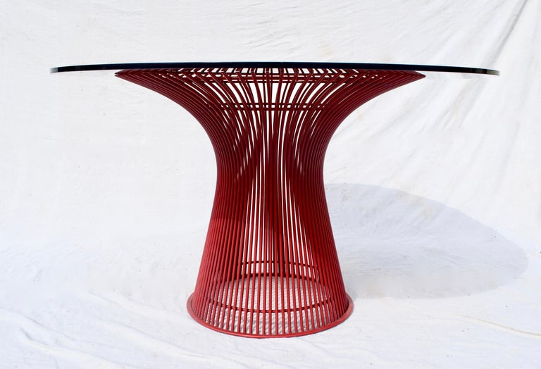 Rare 1970s Warren Platner Dining Table by Knoll For Sale 5