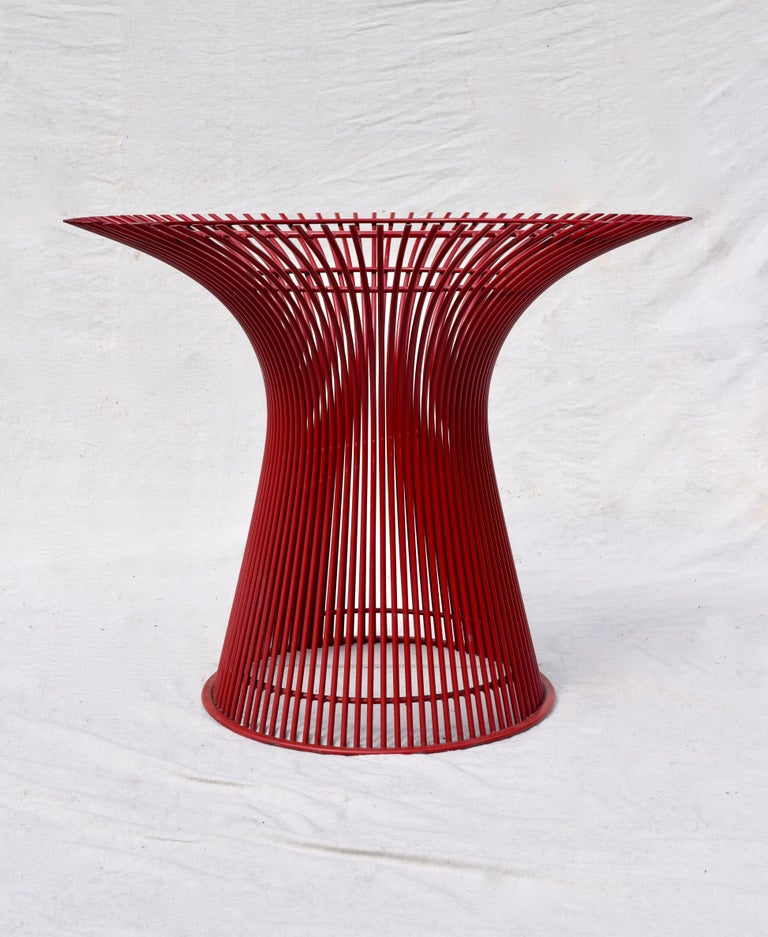 Mid-Century Modern Rare 1970s Warren Platner Dining Table by Knoll For Sale