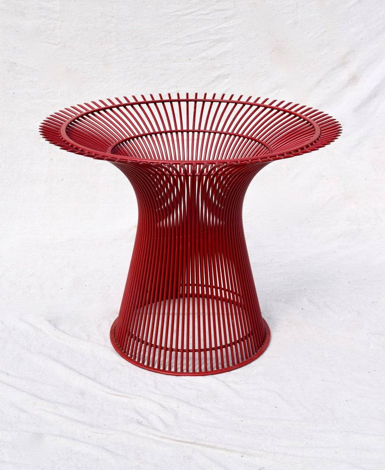 American Rare 1970s Warren Platner Dining Table by Knoll For Sale