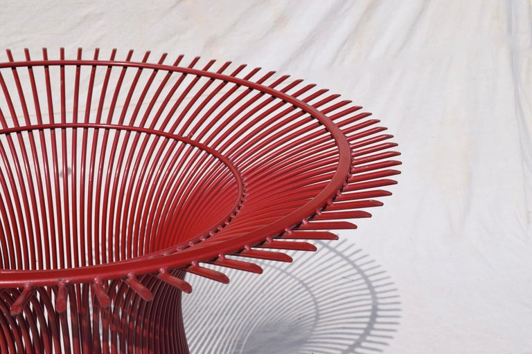 Late 20th Century Rare 1970s Warren Platner Dining Table by Knoll For Sale