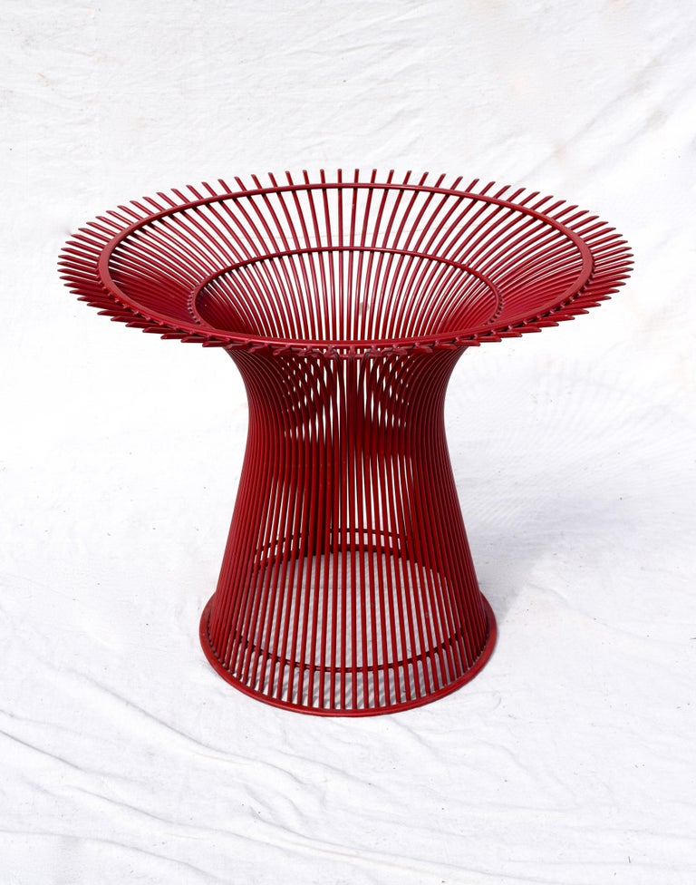 Enamel Rare 1970s Warren Platner Dining Table by Knoll For Sale