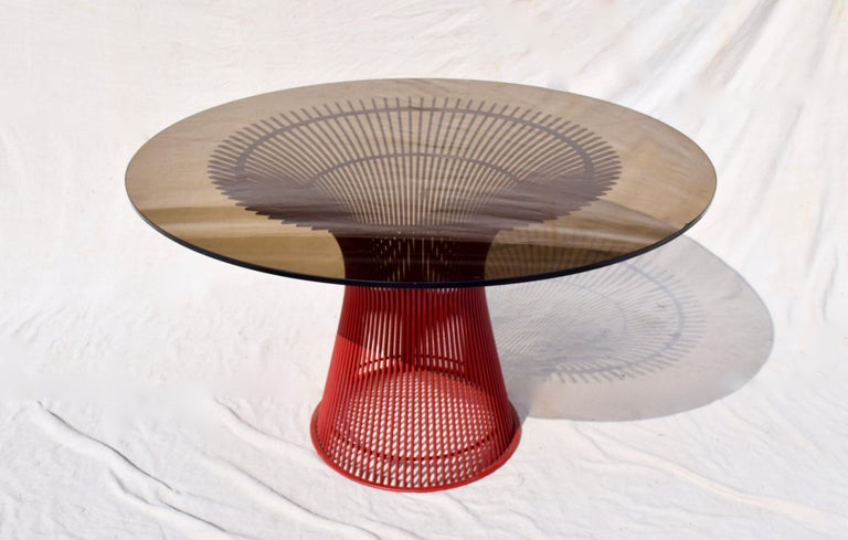 Rare 1970s Warren Platner Dining Table by Knoll For Sale 1