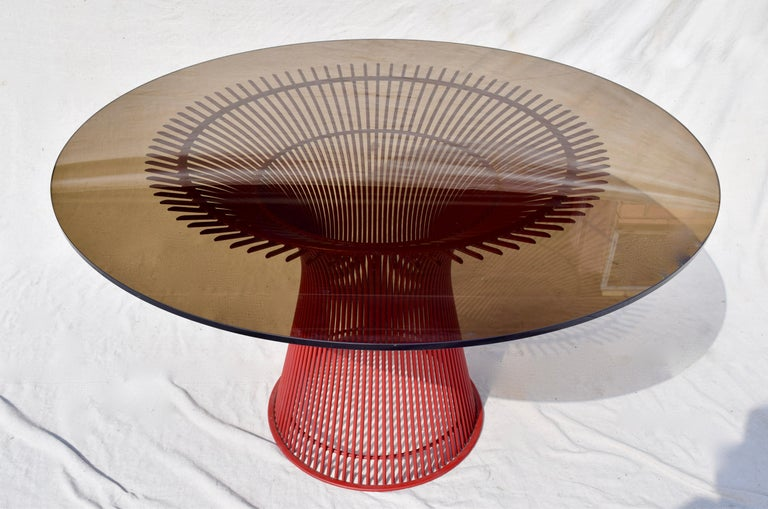 Rare 1970s Warren Platner Dining Table by Knoll For Sale 2