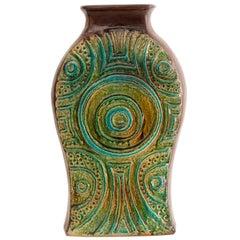 1970s West German Fat Lava Carstens Tonniesh of Floor Vase