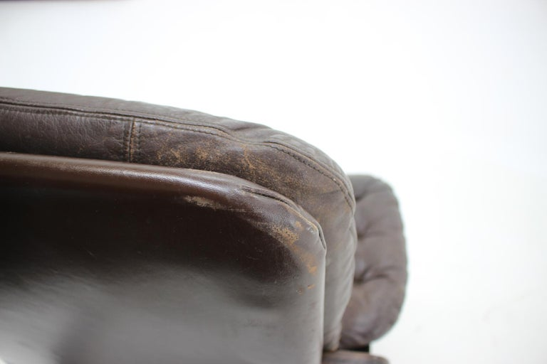 1970s Westnofa Bentwood Leather Armchair, Norway For Sale 3