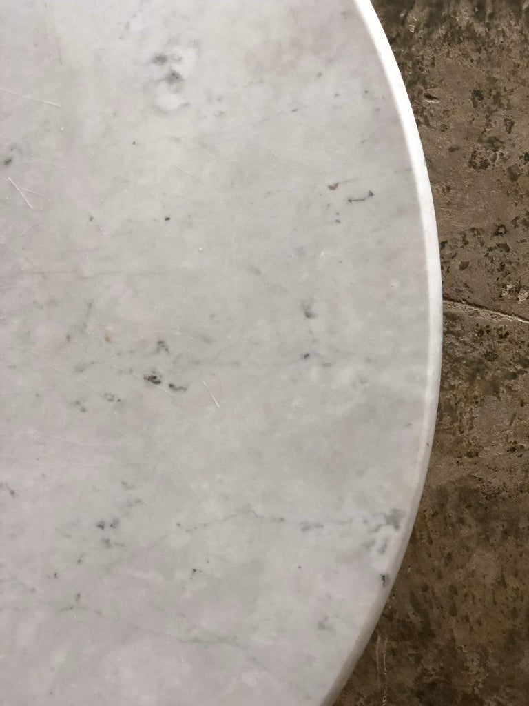1970s White Marble Samo Table by Carlo Scapara For Sale 2