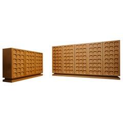 1970s Wooden Vintage Cabinet