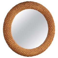 1970s Woven Rope Mirror