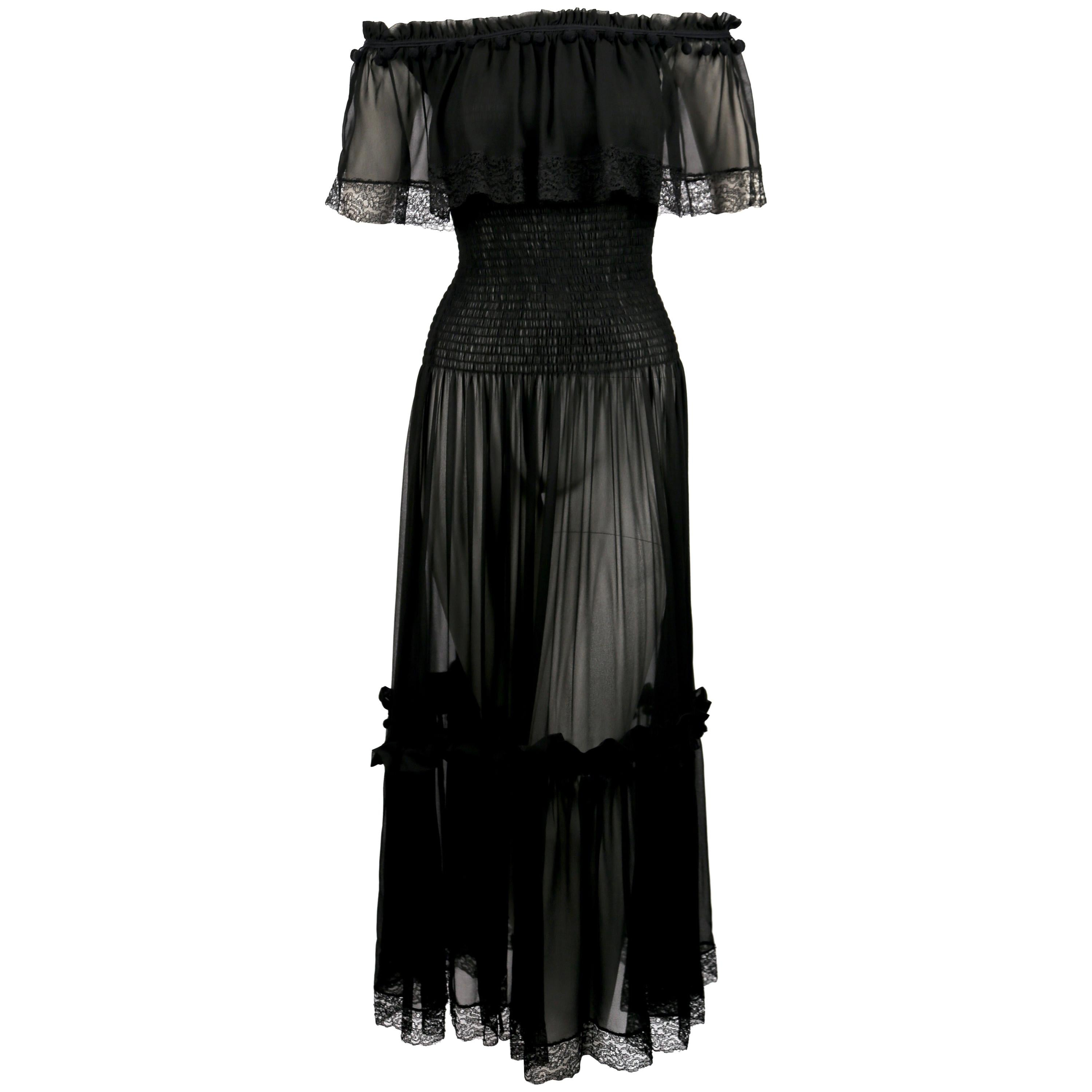 00c1b115e4e1 Vintage Yves Saint Laurent Evening Dresses and Gowns - 322 For Sale at  1stdibs