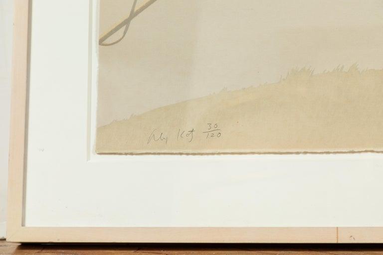 1971, Alex Katz Lithograph In Good Condition For Sale In Newport Beach, CA