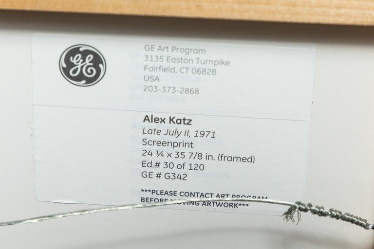 Paper 1971, Alex Katz Lithograph For Sale