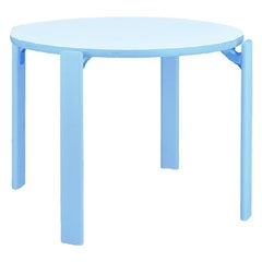 1971 Dietiker Rey Junior, Kids Activity Table in Blue by Bruno Rey, in Stock