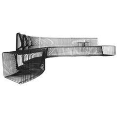 "1971 Verner Panton ""PANTONOVA"" Sofa by X Design Denmark circa 1977 James Bond"