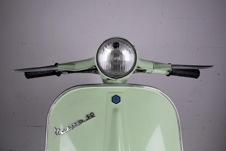 Iron 1971 Vespa by Piaggio Model V50R For Sale