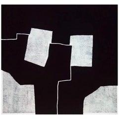 "1972 Etching ""Graphic Presence"" by Eduardo Chillida, Spain"