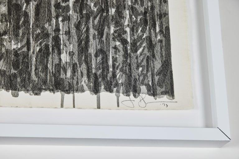 1973, Jasper Johns Lithograph In Good Condition For Sale In Newport Beach, CA