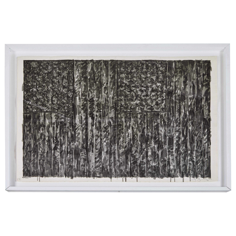 1973, Jasper Johns Lithograph