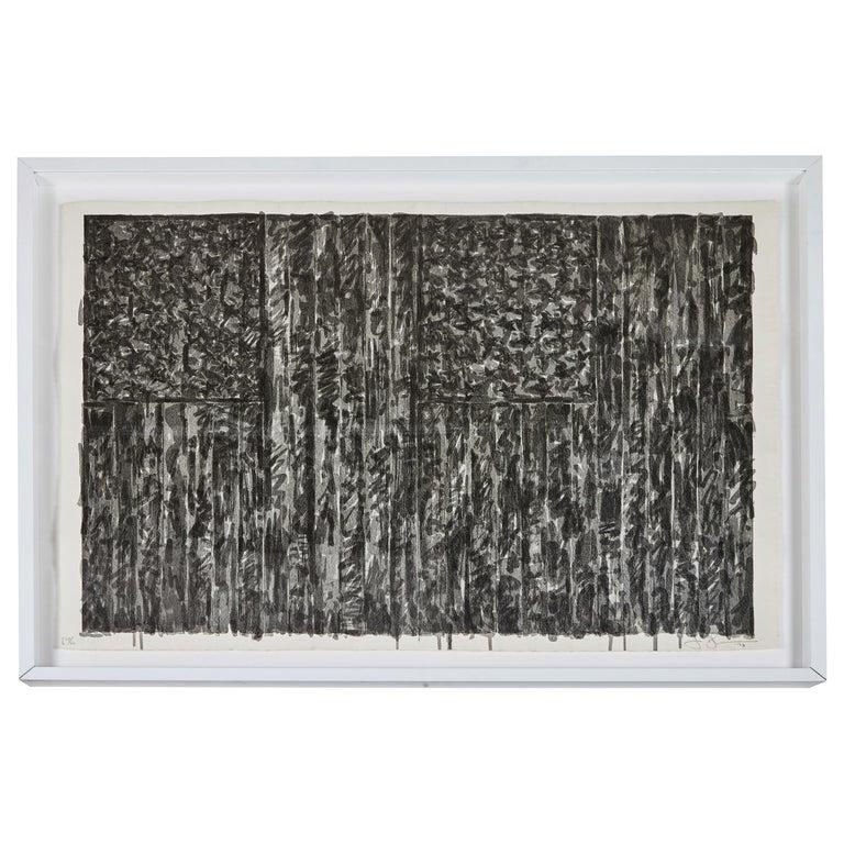 1973, Jasper Johns Lithograph For Sale