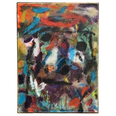 1973 New York Abstract Action Painting