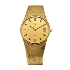 1973 Vacheron Constantin Ronde 18 KT Gold Gm Watch