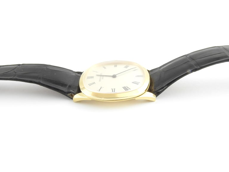 Women's or Men's 1974 Patek Philippe 18 Karat Yellow Gold Golden Ellipse 3644 Men's Watch For Sale