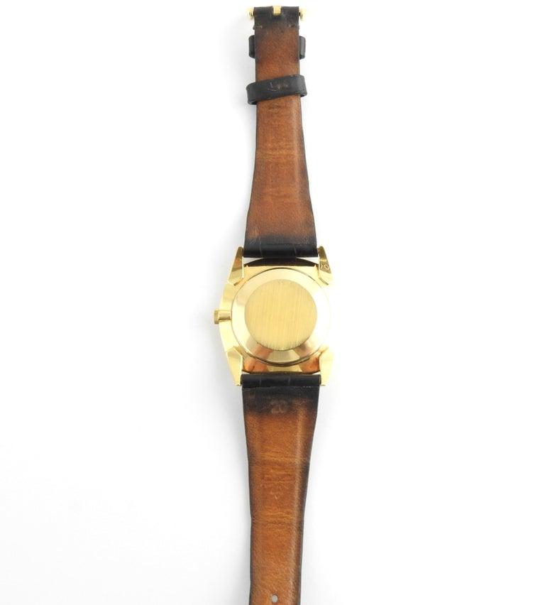 1974 Patek Philippe 18 Karat Yellow Gold Golden Ellipse 3644 Men's Watch For Sale 2