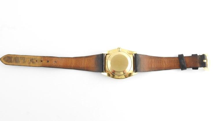 1974 Patek Philippe 18 Karat Yellow Gold Golden Ellipse 3644 Men's Watch For Sale 3