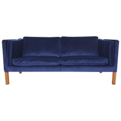 1975 2.5-Seat Sofa by Børge and Peter Mogensen for Fredericia, Model 2335