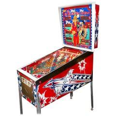 1977 Six Million Dollar Man Pinball Machine by Bally