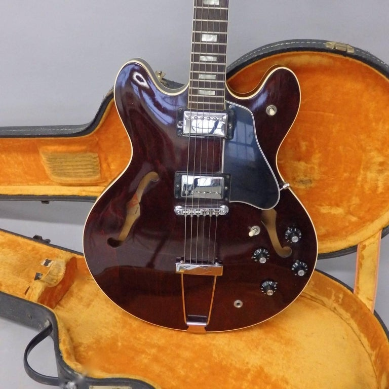 American 1978 Gibson Estate Find ES 335 TD Semi Hollow Body Electric Guitar For Sale