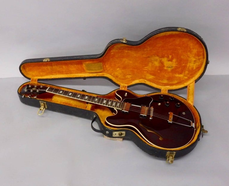 Late 20th Century 1978 Gibson Estate Find ES 335 TD Semi Hollow Body Electric Guitar For Sale