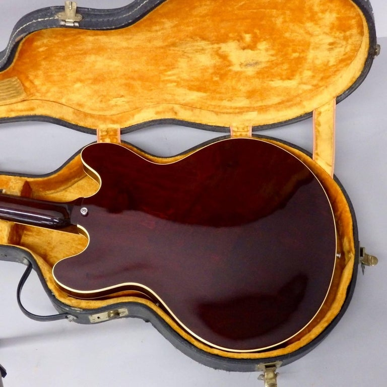 Mahogany 1978 Gibson Estate Find ES 335 TD Semi Hollow Body Electric Guitar For Sale