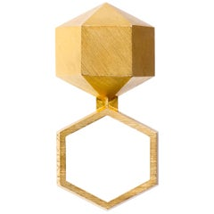 1978 Peter Skubic Gold Geometric Ring