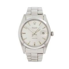 1978 Rolex Oysterdate Stainless Steel 6694 Wristwatch
