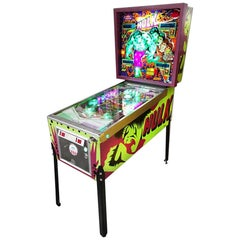 1979 Incredible Hulk' Pinball Machine