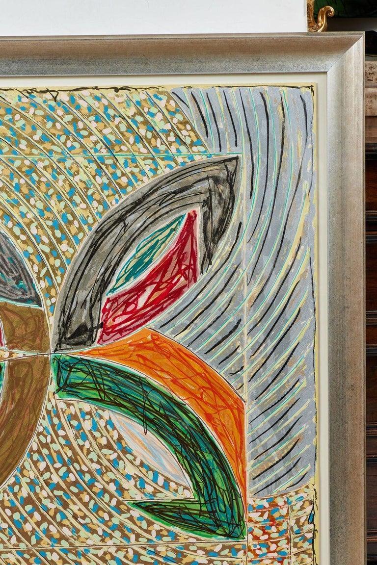 American 1980, Frank Stella, Color Lithograph For Sale